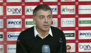 FOOT - L1 - ACA - Bracconi : «On sort du match avec des regrets»