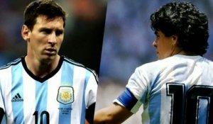 FOOT - CM - ARG : Messi-Maradona, la comparaison impossible ?