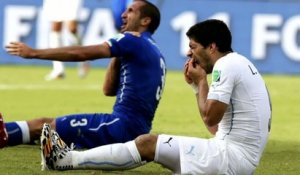 FOOT - CM - URU : Suarez suspendu 9 matches