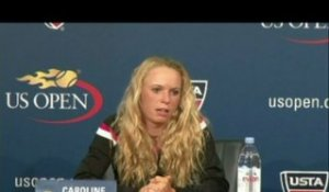 TENNIS - US Open (F) - Wozniacki : «Difficile de la voir s'effondrer»
