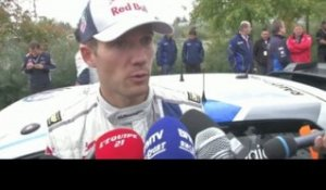 RALLYE - WRC - France - Ogier : «On accuse un peu le coup»