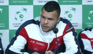TENNIS - COUPE DAVIS - Tsonga : «Beaucoup de déception»