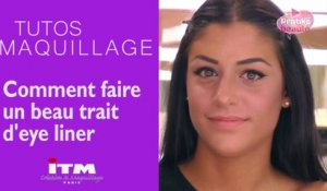 Maquillage - Comment faire un beau trait d'eye liner