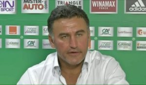 FOOTBALL - LIGUE EUROPA: Galtier «Un bel avantage»
