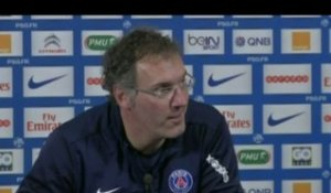 FOOT - C1 - PSG - Blanc : «Beaucoup de respect»