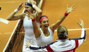 Fed Cup 2015 : la France bat l'Italie