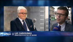 "Valls est ""sous influence"": ""J'attends que Dumas s'excuse"", indique Luc Carvounas"