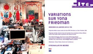 Variations sur Yona Friedman