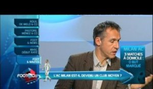 Foot And Nautes : L'AC Milan est-il devenu un club moyen ?