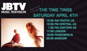 The Ting Tings performing Live on JBTV April 4th, 2015