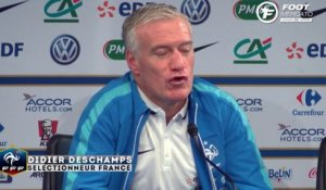 Deschamps envoie un message à Griezmann