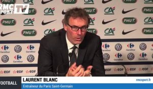 "Football / Blanc : ""Un très bon match de foot"" 08/04"