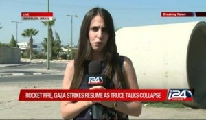 i24news correspondent reports from rocket-fatigued Ashkelon
