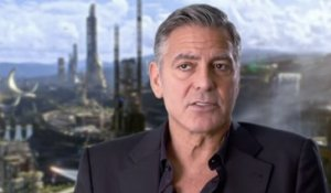 A la Poursuite de Demain - Interview George Clooney VO