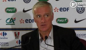 Deschamps justifie le choix Ntep