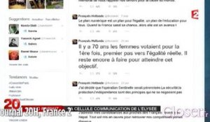 journal 20H : François Hollande Tweet