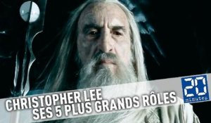 Christopher Lee: Ses 5 plus grands rôles