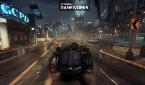 Extrait / Gameplay - Batman Arkham Knight (Gameplay Batmobile Graphismes Nvidia)