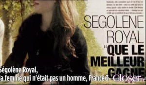 Ségolène Royal une de Paris Match