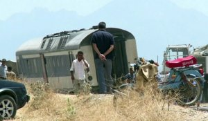 Tunisie: 17 morts, 70 blessés dans un accident de train