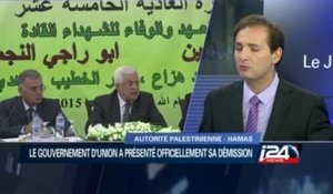Démission du gouvernement d'union palestinien