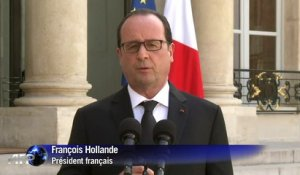 "Hollande: plan Vigipirate en ""alerte maximum"" en Rhône-Alpes"
