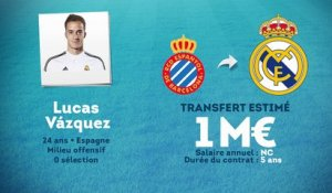Officiel : Lucas Vazquez signe au Real Madrid !