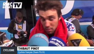 "Cyclisme - Tour de France / Pinot : ""C'était tendu"""
