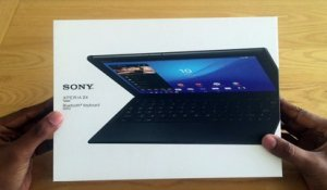 Sony Xperia Z4 Tablet : unboxing de la tablette