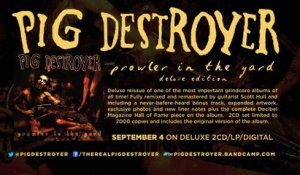 PIG DESTROYER - 'Prowler In The Yard' Vinyl Reissue (Official Trailer)