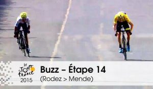 Buzz du jour / Buzz of the day - Étape 14 (Rodez > Mende) - Tour de France 2015