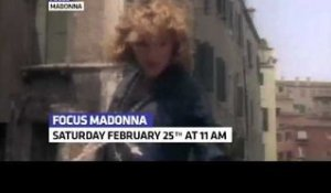 Madonna : FOCUS (In February on Trace Urban)