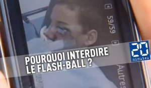 Pourquoi interdire le Flash-Ball ?