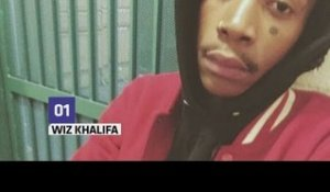 Wiz Khalifa arrested for weed possession, tweets jail selfie