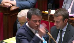 Echange musclé entre Manuel Valls et Christian Jacob sur la question des éleveurs