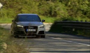 Essai Audi RS3 Sportback 2015 - great engine sound !
