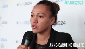 #Paris2024 : Anne-Caroline Graffe