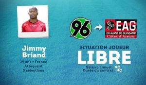 Officiel : Jimmy Briand rebondit à Guingamp !