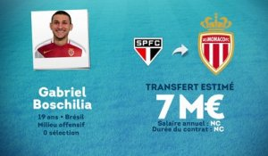 Officiel : Gabriel Boschilia rejoint l'AS Monaco !