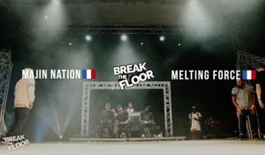 BREAK THE FLOOR summer 2015 | 1/8 FINAL Melting force VS Majin Nation