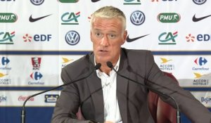 Foot - Bleus - Absents : Deschamps «J'attends plus de Dimitri»