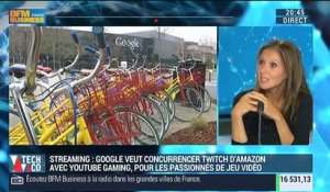 Streaming: Google a lancé YouTube Gaming pour concurrencer Twitch d'Amazon - 27/08