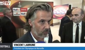 "Ligue Europa - Labrune : ""Un groupe abordable"""