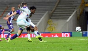 Toulouse 1-1 OM : le but de Michy Batshuayi (90e)