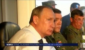 Syrie : Vladimir Poutine avance ses pions