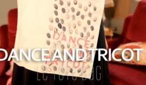Tuto Dance and Tricot : customiser son tote bag