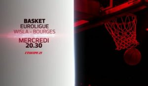 BASKET BALL - WISLA CRACOVIE / BOURGES : BANDE-ANNONCE