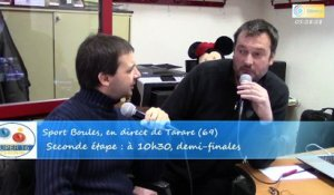 Interview Thierry Garel, Super 16 féminin, Sport Boules, Tarare 2015