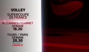 VOLLEY BALL - SUPERCOUPES FEMME & HOMME : BANDE-ANNONCE