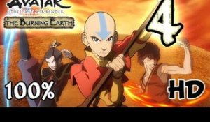 Avatar The Last Airbender: Burning Earth Walkthrough Part 4 | 100% (X360, Wii, PS2) HD